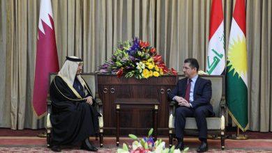Photo of رئيس حكومة إقليم كوردستان يستقبل نائب رئيس الوزراء وزير الخارجية القطري