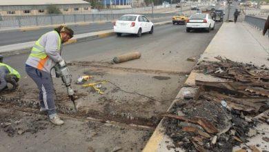 Photo of امانة بغداد : افتتاح احد جوانب مجسر ملعب الشعب بعد انجاز صيانته