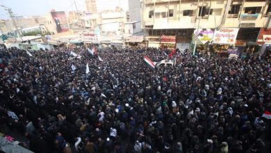 Photo of بالفيديو.. اهالي البصرة يستعدون لاستقبال جثمان المهندس بهتافات و أهازيج منددة