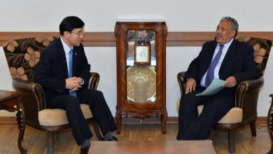 Photo of رئيس دائرة آسيا وأستراليا يلتقي السفير الكوري لدى بغداد