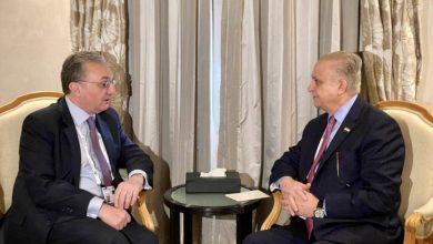 Photo of وزير الخارجيّة يلتقي نظيره الأرمينيّ ويؤكد استعداد العراق لاستضافة اجتماعات الدورة الثالثة للجنة العراقيّة-الأرمينيّة المُشترَكة