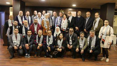 Photo of لقاء تضامني لرابطة أطباء الأسنان الفلسطينيين في لبنان في سفارة فلسطين ضد صفقة القرن