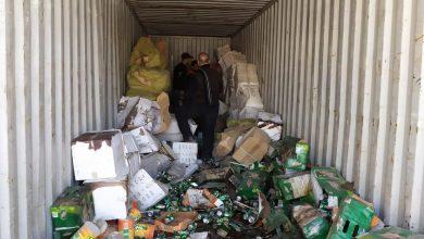 Photo of المنافذ الحدودية:ضبط حاوية محملة بأدوية بشرية منتهية الصلاحية في ميناء أم قصر الجنوبي