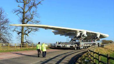 Photo of بالصورة.. أخر قطعة جناح تم تصنيعها لطائرة الايرباص  A380