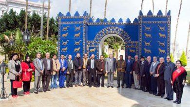 Photo of سفير جمهوريّة العراق لدى القاهرة يستقبل عدداً من العراقـيّين المُكرَّمين من قبل الرابطة العالميّة للإبداع والتعليم الإنسانيّ