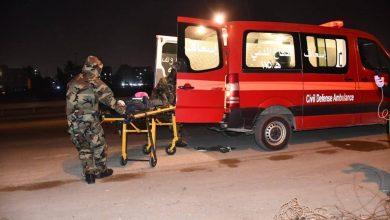 Photo of بالصور :الدفاع المدني تنقل مشتبه بإصابته بـ(كورونا) من العبيدي الى مستشفى اليرموك