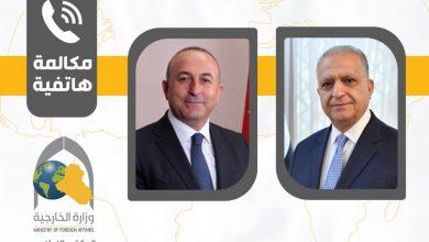 Photo of وزير الخارجية يجري اتصالاً هاتفياً بوزير خارجية تركيا مولود جاويش أوغلو