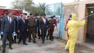 Photo of وزير الداخلية يشرف على حملة لتعفير عدد من المؤسسات الحكومية