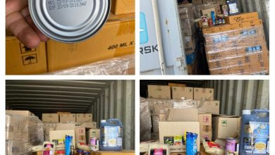 Photo of الكمارك.. ضبط مواد غذائية متنوعة منتهية الصلاحية في كمرك ام قصر الشمالي