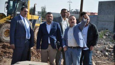 Photo of محافظ كركوك ومدير البلدية يتابعان الاعمال والمشاريع الخدمية في المحافظة