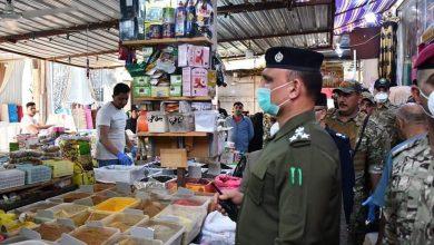 Photo of قائد شرطة ميسان يتابع ميدانيا ارتفاع أسعار المواد الغذائية والخضار