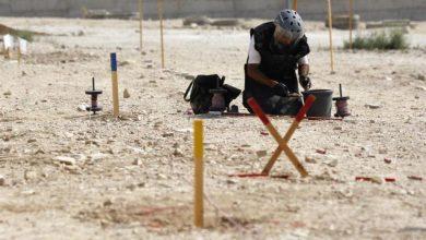 """Photo of داخلية فلسطين"""": انتهاء عمليات إزالة الألغام من حقل المغطس"""
