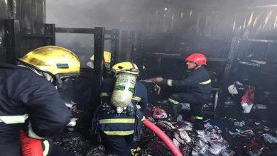 Photo of الدفاع المدني تسيطر على حريق في الشورجة