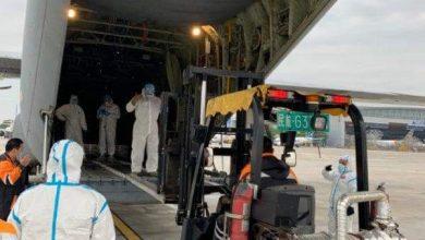 Photo of الصحة تستقدم اجهزة ومستلزمات طبية على متن طائرة عسكرية من الصين
