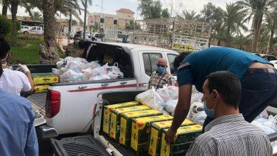 Photo of نفط البصرة تواصل توزيع السلال الغذائية على العوائل المتعففة في المحافظة