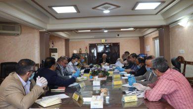 Photo of حبوب التجارة : لجنة التسويق المركزية تناقش سير عملية التسويق الجارية في محافظات وسط و جنوب البلاد
