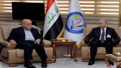 Photo of وزير العدل والسفير الإيراني يبحثان تبادل السجناء والقضايا المشتركة
