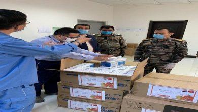 Photo of شركة سينوك الصينية تجهز محافظة ميسان بـ80 ألف كمامة