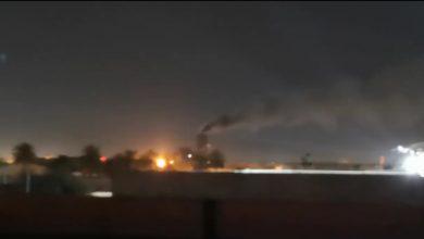 Photo of خلل بمحطة الكهرباء القريبة من جسر الزعفرانية نتج عنه تفريغ الضغط الى الجو بصوت مخيف