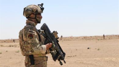 Photo of بالصور.. انتشار قوات امنية قرب صحراء الانبار