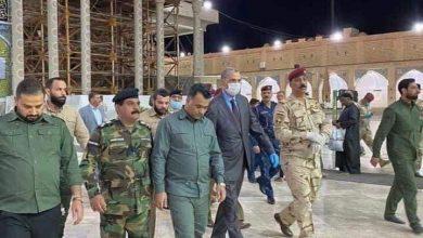 Photo of وزير الداخلية عثمان الغانمي في سامراء كأول مدينة يتفقدها بعد ساعة من استلامه للمنصب