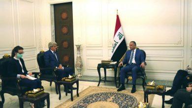 Photo of الكاظمي والسفير الفرنسي يبحثان نشاط الشركات الفرنسية في المناطق المحررة والعاصمة بغداد