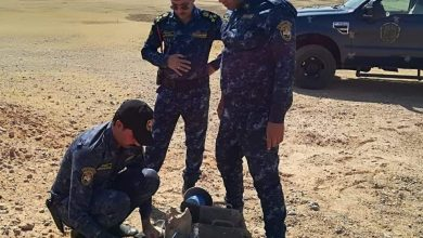 Photo of الشرطة الاتحادية تنفذ عملية لتطهير مخلفات داعش في منطقة مكيشيفة وخط اللاين