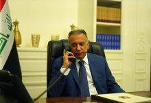 "Photo of بالفيديو : جانب من الاتصال الهاتفي بين رئيس الوزراء ""مصطفى الكاظمي"" وشيوخ عشائر ذي قار"
