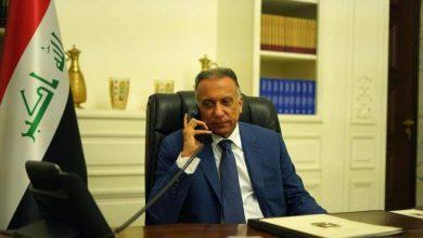 Photo of رئيس مجلس الوزراء السيد مصطفى الكاظمي يطمئن هاتفيًا على صحة ولي العهد السعودي