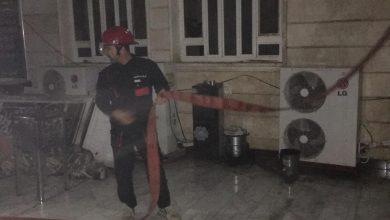 Photo of بالصور.. مسجد في واسط تلتهمه النيران والدفاع المدني يتدخل