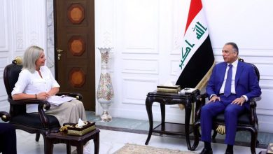 Photo of رئيس مجلس الوزراء السيد مصطفى الكاظمي يستقبل الممثلة الخاصة للأمين العام للأمم المتحدة في العراق