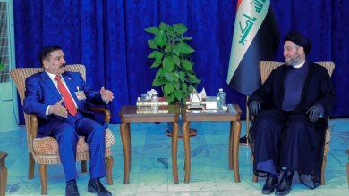 """Photo of الحكيم ل""""عناد"""" : ضرورة استكمال عملية بناء الجيش العراقي والاهتمام بالعقيدة العسكرية"""