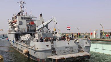 Photo of غرق سفينة عراقية في مدخل ميناء ام قصر