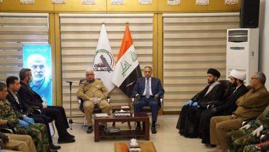 Photo of بالصور.. القائد العام للقوات المسلحة مصطفى الكاظمي يزور هيئة الحشد الشعبي