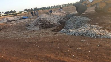 Photo of اتلاف عشرات الاطنان من اللحم والتمر منتهية الصلاحية في اربيل