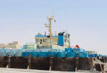 Photo of النقل : ميناء ابو فلوس يشهد حركة تجارية مميزة في استقبال البواخر المتنوعة الحمولات