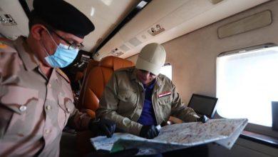 Photo of القائد العام للقوات المسلحة يشرف على انطلاق عمليات أبطال العراق- نصر السيادة، ويتفقد القطعات العسكرية المشاركة
