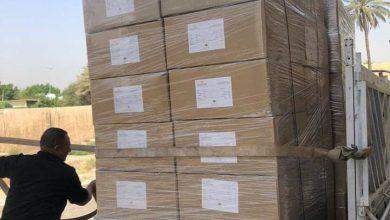 Photo of الشركة العامة لصناعات النسيج والجلود تجهز الصحة بوجبة جديدة من الكمامات بحدود (٢٧٠) الف كمامة