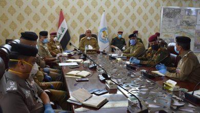 Photo of شرطة البصرة :اجتماع امني موسع في مقر مديرية شرطة محافظة البصرة