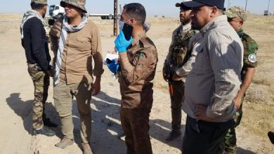 "Photo of قاطع عمليات ديالى للحشد يباشر بعملية في جبال حمرين ضمن ""أبطال العراق نصر السيادة"""