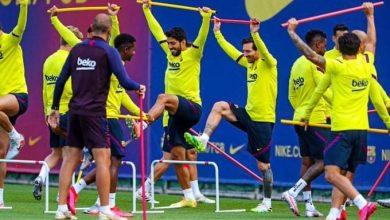 Photo of عودة ميسي لتدريبات برشلونة  بعد تعافيه من الإصابة