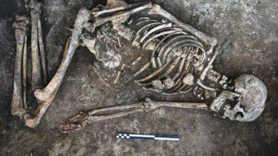 Photo of العثور على جثة من العصر الحديدي مقيدة اليدين