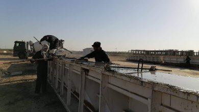Photo of تواصل العمل في ملعب ذي قار الاولمبي بالرغم من حظر  التجوال والظروف الصحية