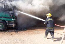Photo of الدفاع المدني تخمد حريقا التهم (٩) عجلات حمل وتبعد الخطر عن اكثر من 2000 عجلة اخرى في منفذ زرباطية