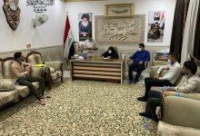 Photo of السعبري تستقبل عدد من المحاضرين بمكتبها في مدينة الكوفة