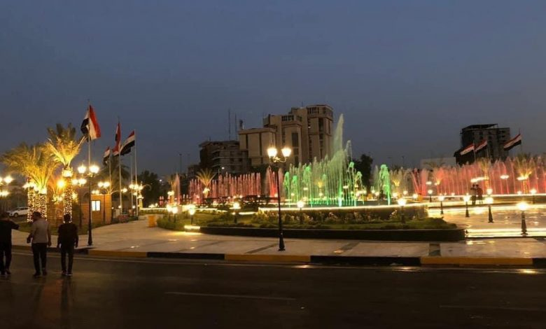 Photo of أمانة بغداد تفتح ساحة الفردوس وسط العاصمة
