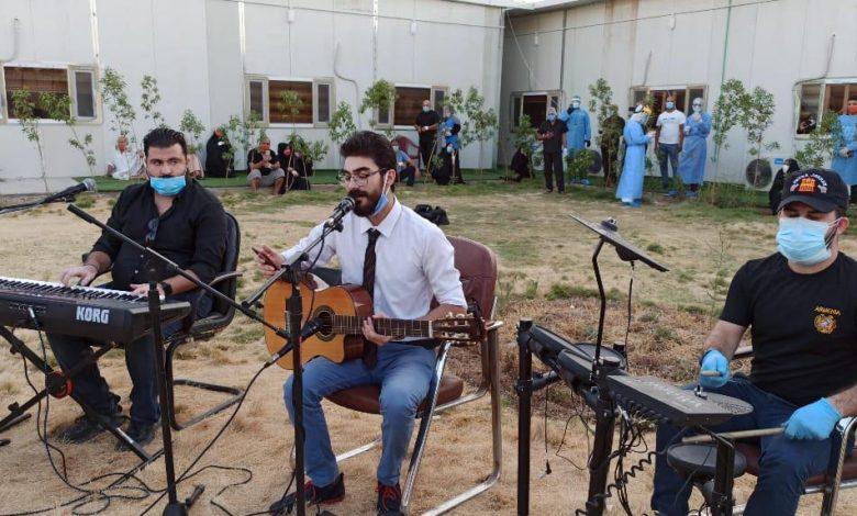 Photo of اغاني تراثية ومعزوفات لمصابي كورونا في ابن الخطيب