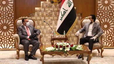 Photo of رئيس مجلس النواب يستقبل وفد كتلة النهج الوطني