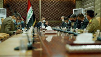 Photo of الكاظمي يعقد اجتماعاً مع القيادات الأمنية
