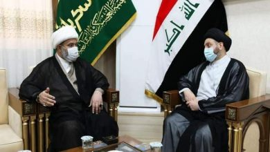 """Photo of الأمين العام للعتبة العسكرية المقدسة يستقبل سماحة السيد """"عمار الحكيم"""""""